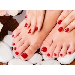 Pose de semi-permanent organique CALGEL - mains ou pieds