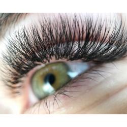 Extensions de cils : Oeil de biche